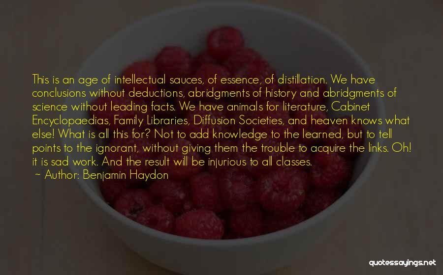 Benjamin Haydon Quotes 536882