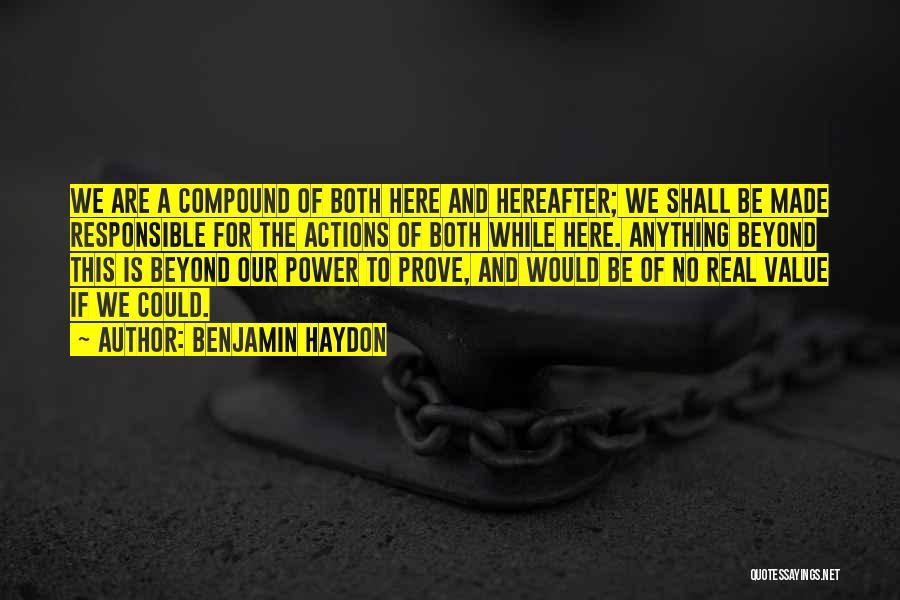 Benjamin Haydon Quotes 620526