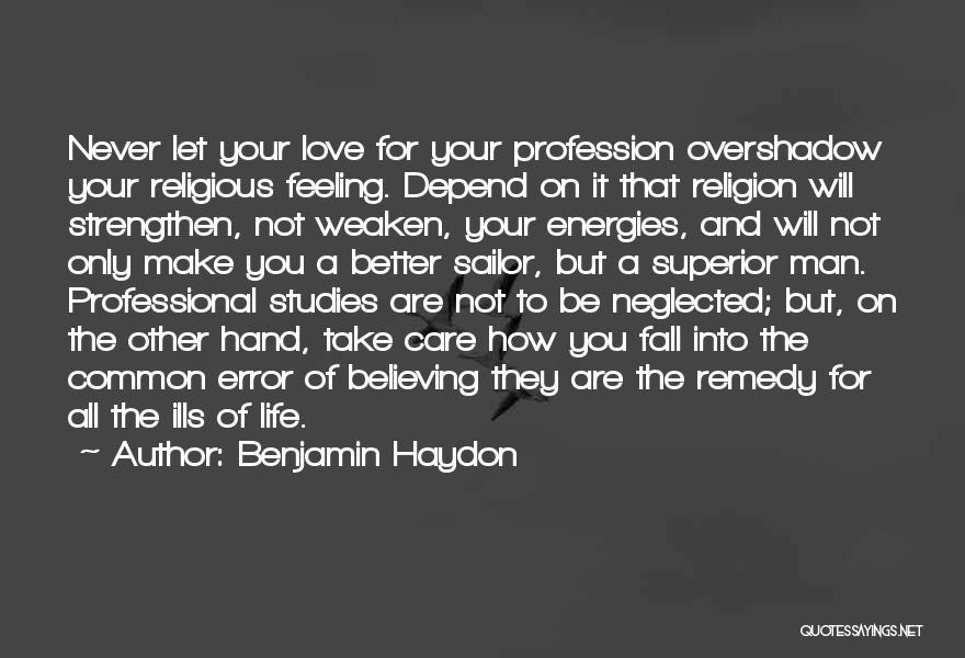 Benjamin Haydon Quotes 900909