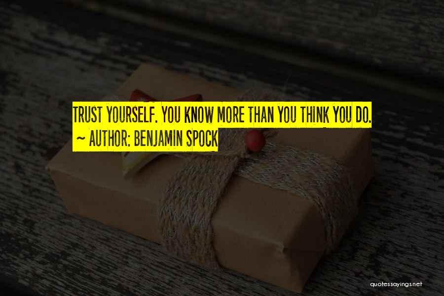 Benjamin Spock Quotes 1516565