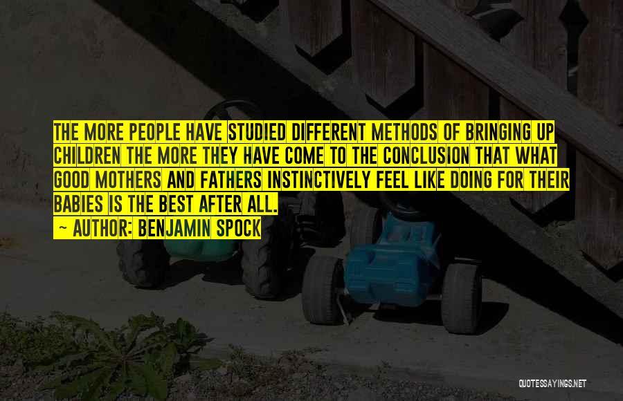 Benjamin Spock Quotes 1604799
