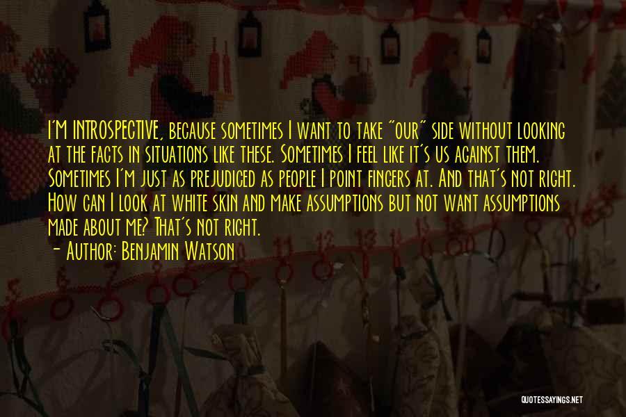 Benjamin Watson Quotes 1945825