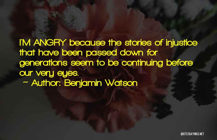 Benjamin Watson Quotes 2116537