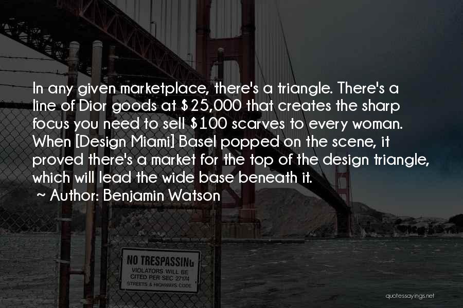 Benjamin Watson Quotes 222710