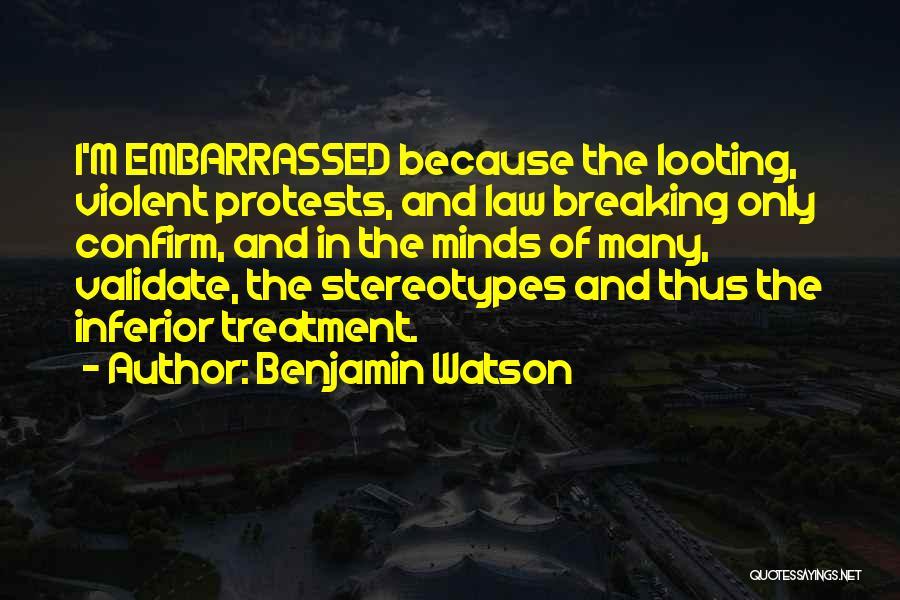 Benjamin Watson Quotes 323721