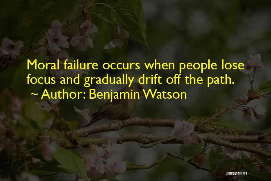 Benjamin Watson Quotes 391397