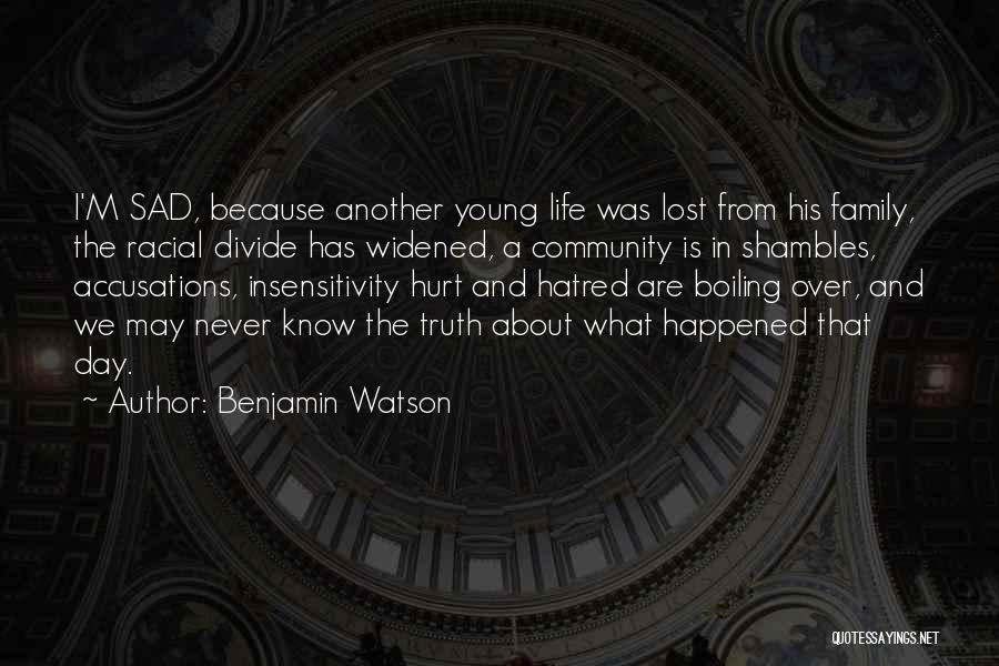 Benjamin Watson Quotes 720468
