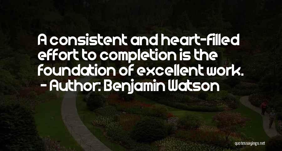Benjamin Watson Quotes 780944