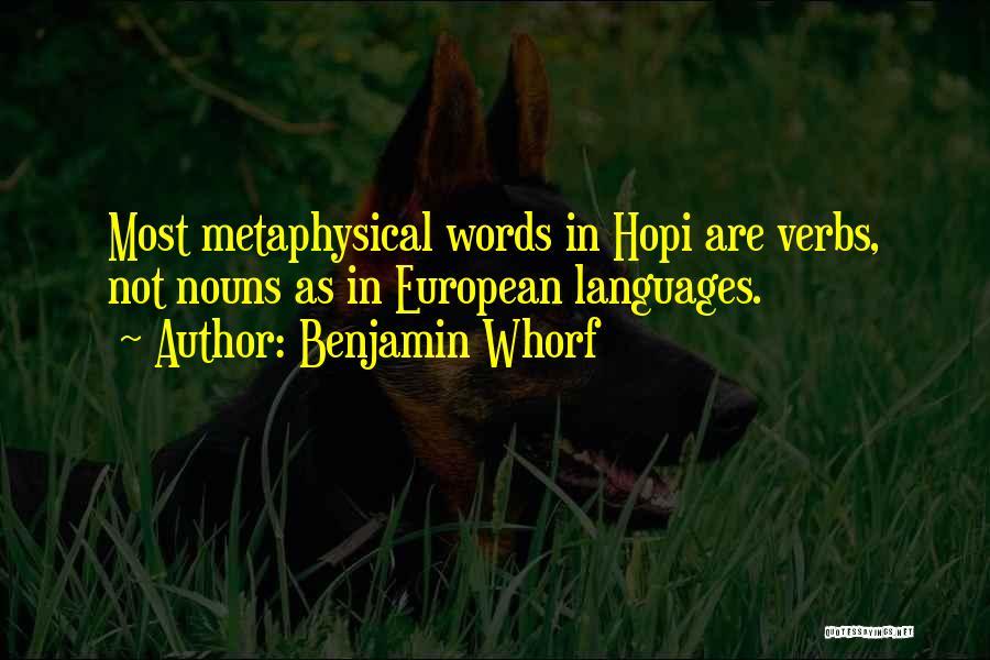 Benjamin Whorf Quotes 1112801
