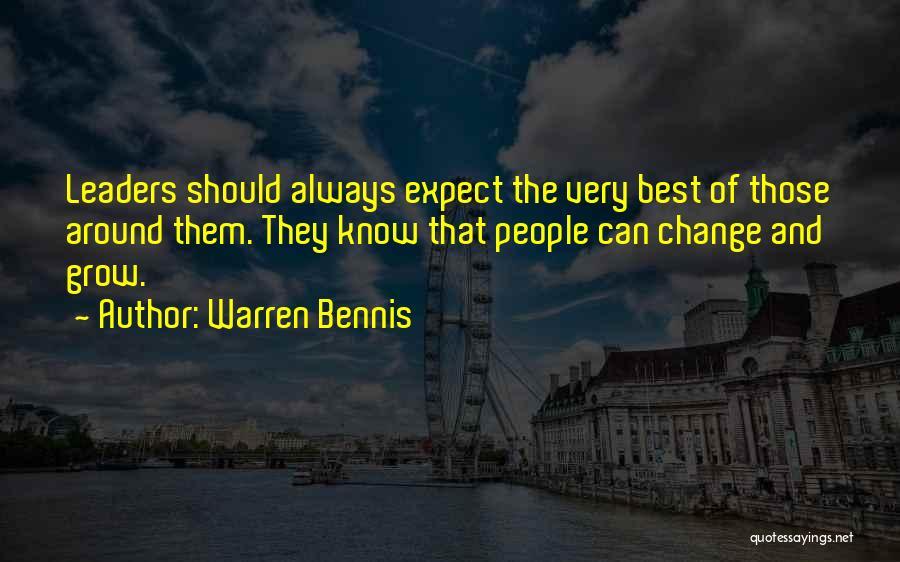Bennis Quotes By Warren Bennis