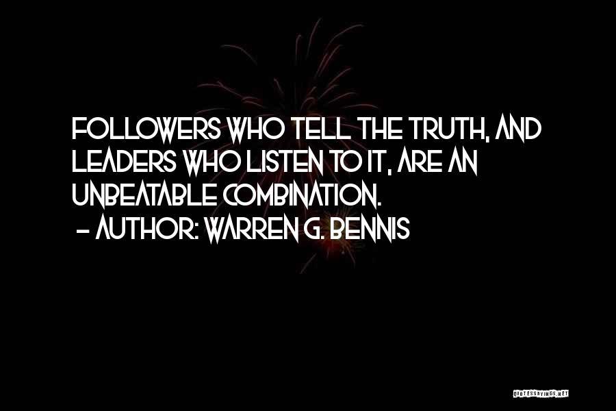 Bennis Quotes By Warren G. Bennis