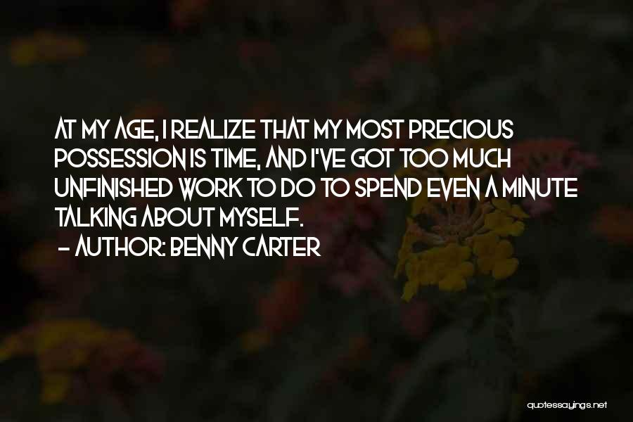 Benny Carter Quotes 1245779