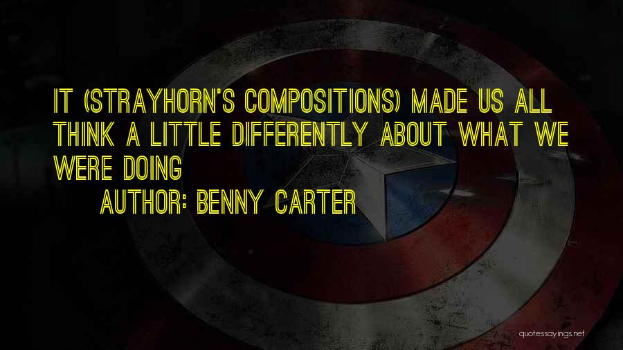 Benny Carter Quotes 1553090