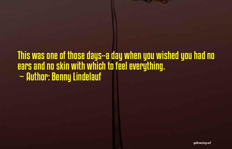 Benny Lindelauf Quotes 308020