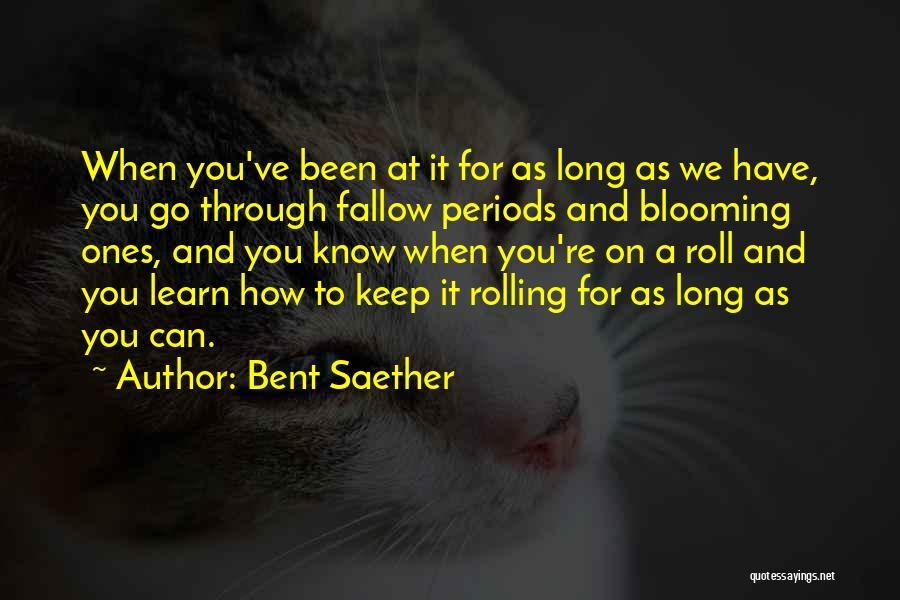 Bent Saether Quotes 751928