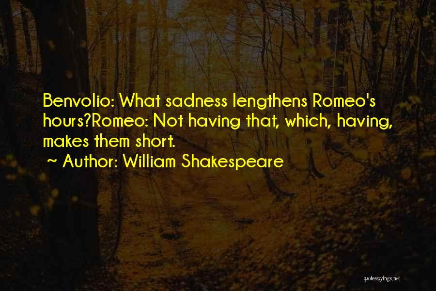 Benvolio Quotes By William Shakespeare