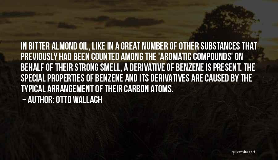 Benzene Quotes By Otto Wallach