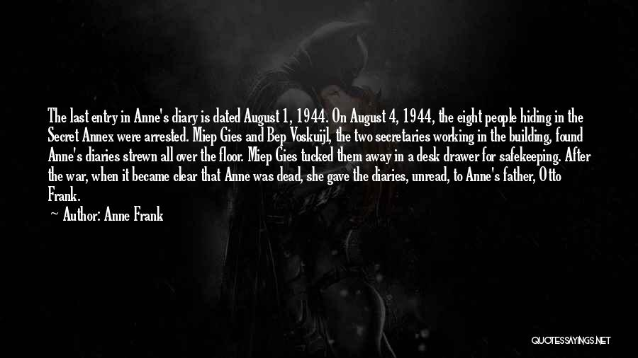 Bep Voskuijl Quotes By Anne Frank