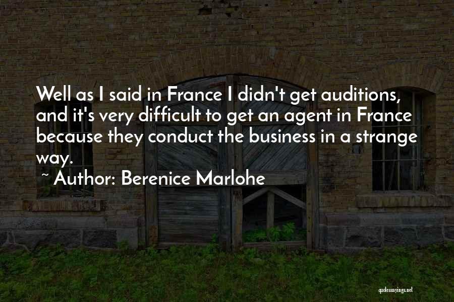 Berenice Marlohe Quotes 1062054