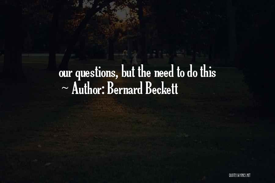 Bernard Beckett Quotes 1143523