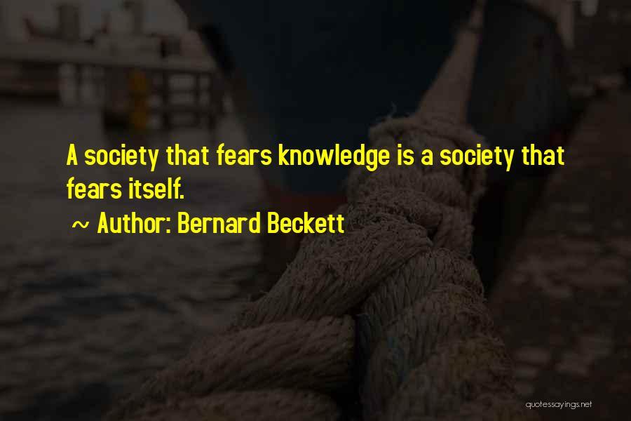 Bernard Beckett Quotes 1265236
