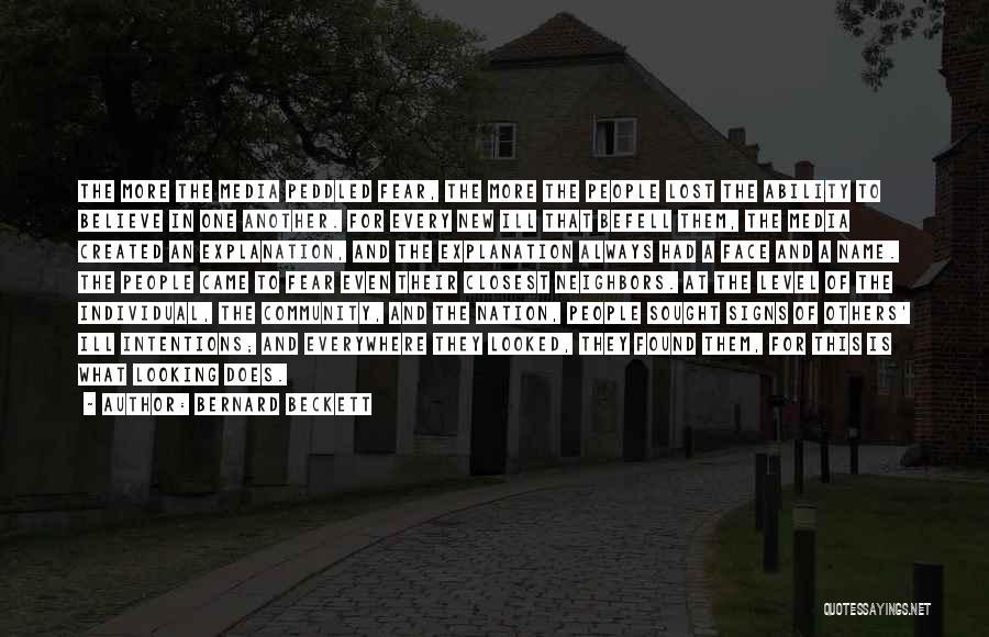 Bernard Beckett Quotes 1763539