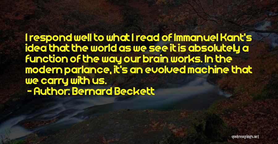 Bernard Beckett Quotes 1797386