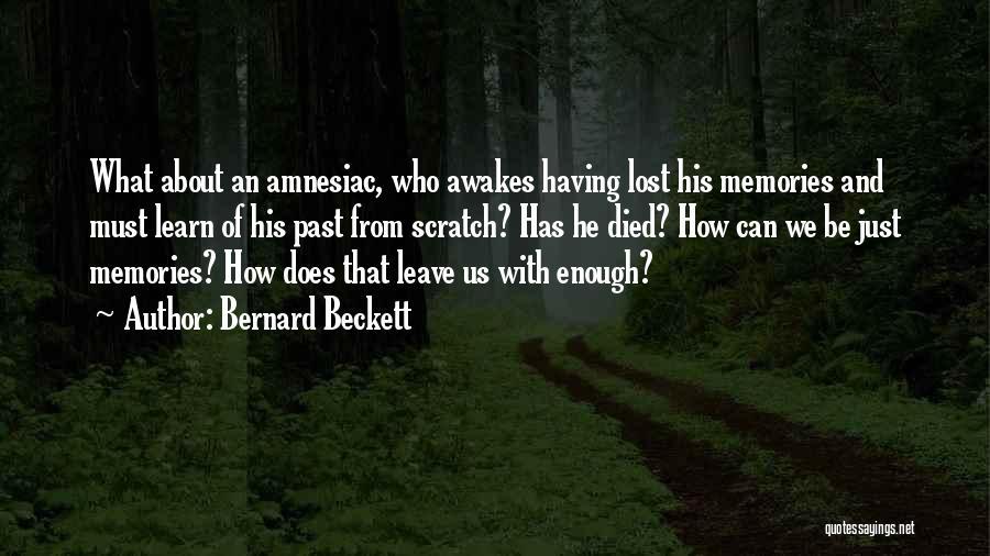 Bernard Beckett Quotes 1871065