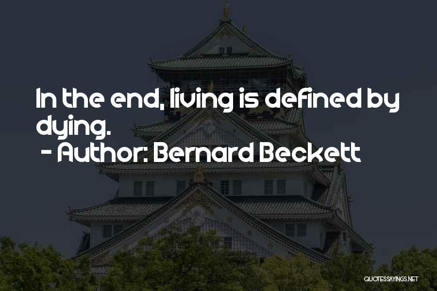 Bernard Beckett Quotes 1930325