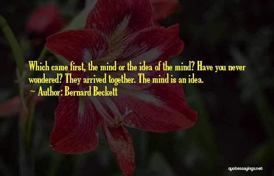 Bernard Beckett Quotes 2080474