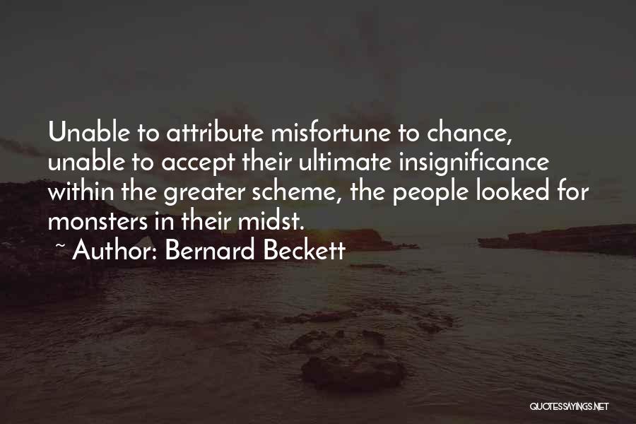 Bernard Beckett Quotes 776067