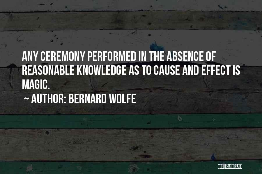 Bernard Wolfe Quotes 2058825