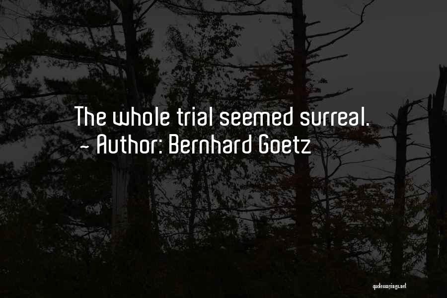 Bernhard Goetz Quotes 1181621