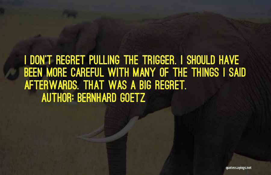 Bernhard Goetz Quotes 2166366