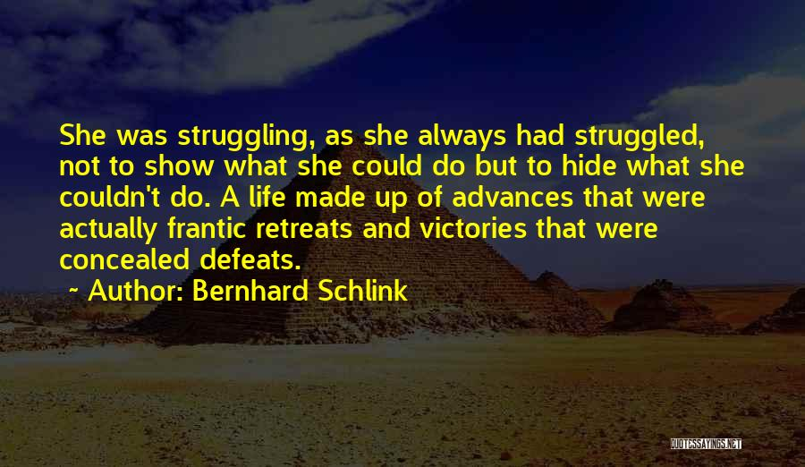 Bernhard Quotes By Bernhard Schlink