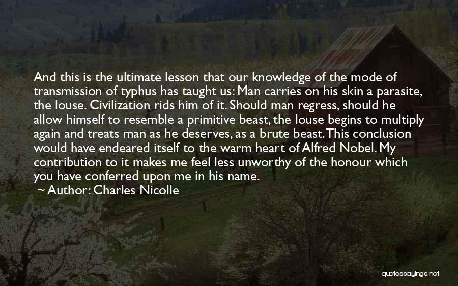 Bernhard Quotes By Charles Nicolle