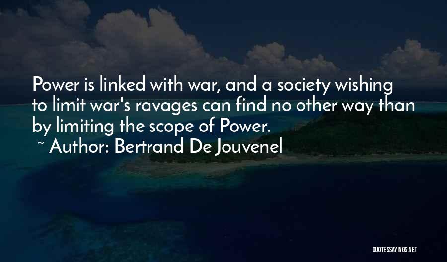Bertrand De Jouvenel Quotes 1281471