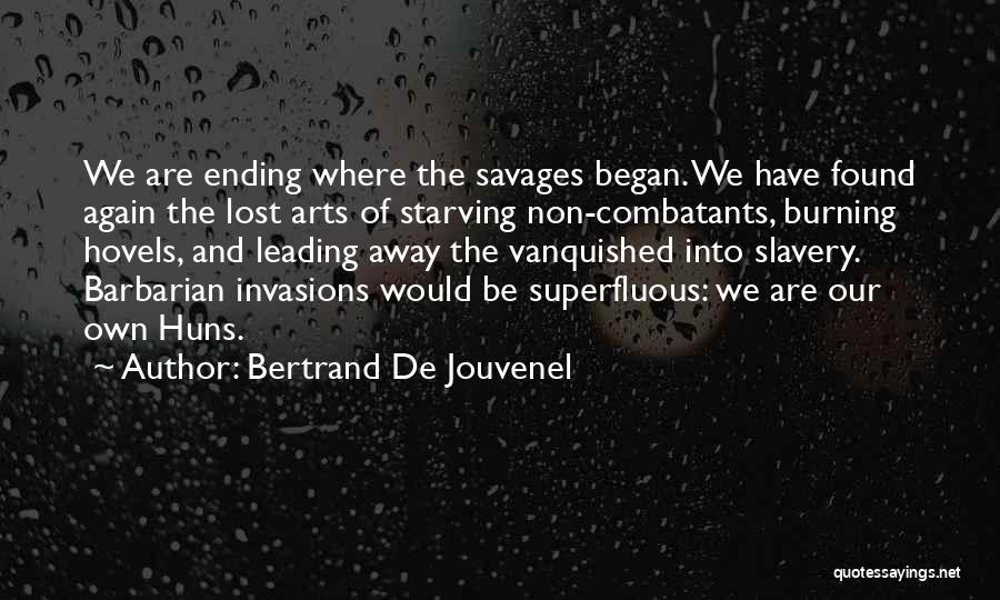 Bertrand De Jouvenel Quotes 258837