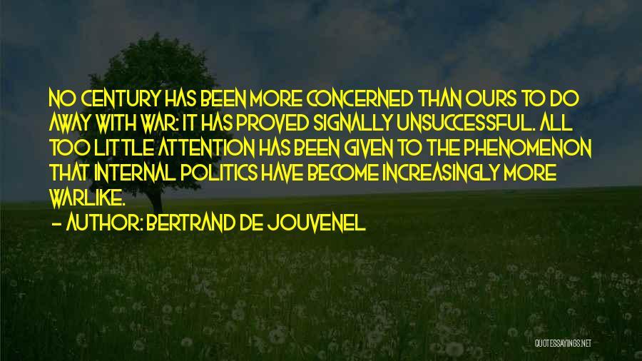 Bertrand De Jouvenel Quotes 288614