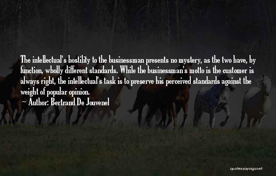 Bertrand De Jouvenel Quotes 748381