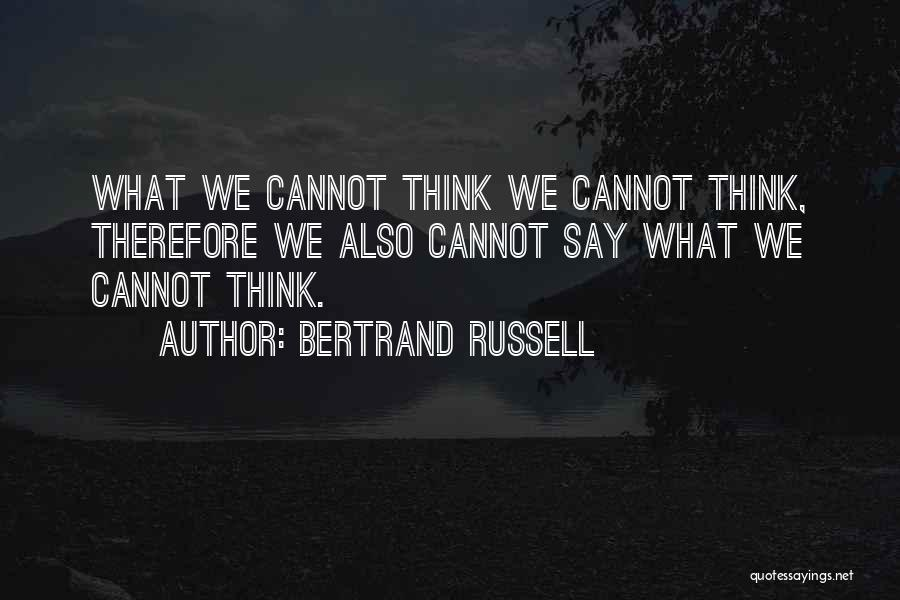 Bertrand Russell Quotes 589918