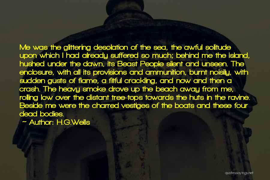 Beside The Sea Quotes By H.G.Wells