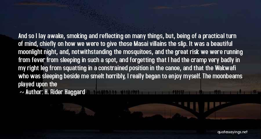 Beside The Sea Quotes By H. Rider Haggard