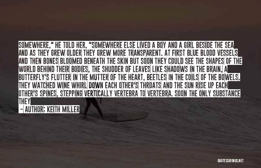 Beside The Sea Quotes By Keith Miller