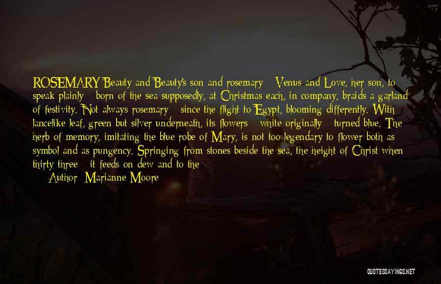 Beside The Sea Quotes By Marianne Moore