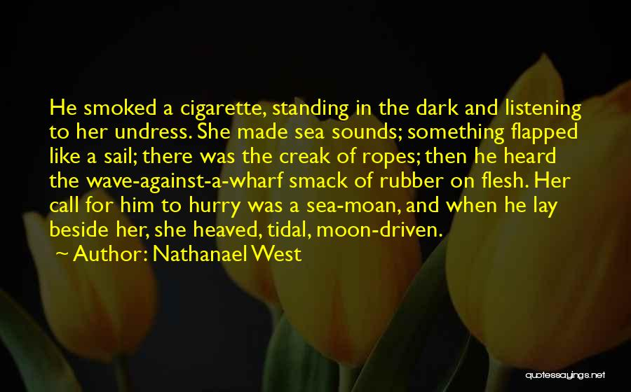 Beside The Sea Quotes By Nathanael West
