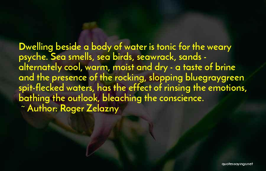 Beside The Sea Quotes By Roger Zelazny