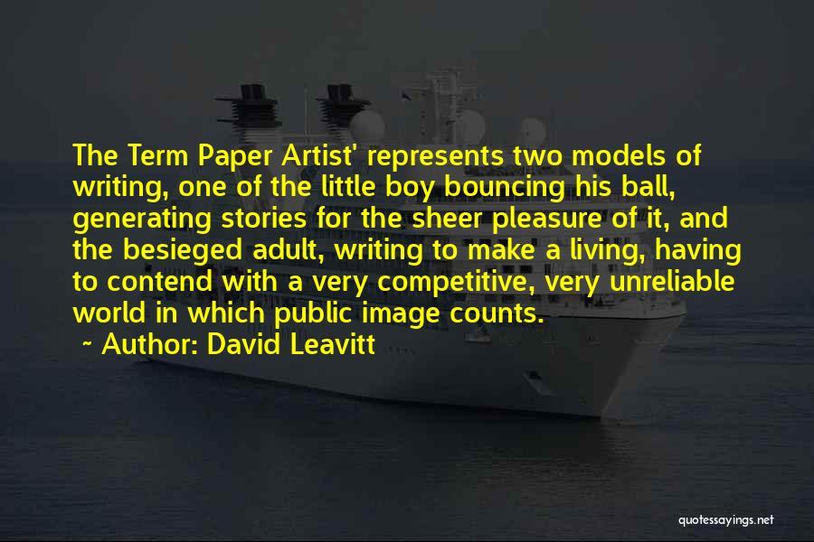 Besieged Quotes By David Leavitt