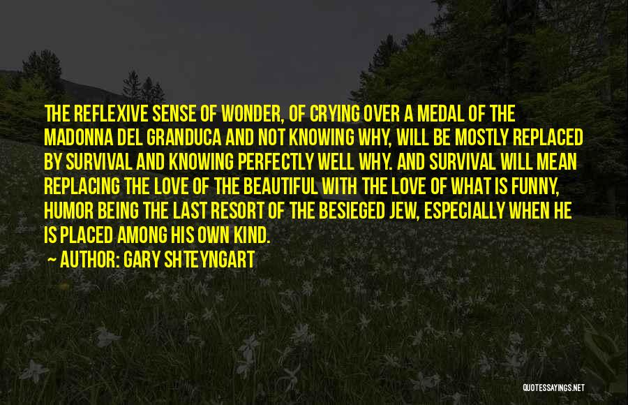 Besieged Quotes By Gary Shteyngart