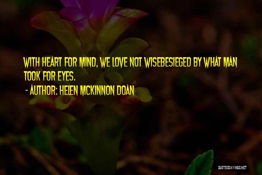 Besieged Quotes By Helen McKinnon Doan